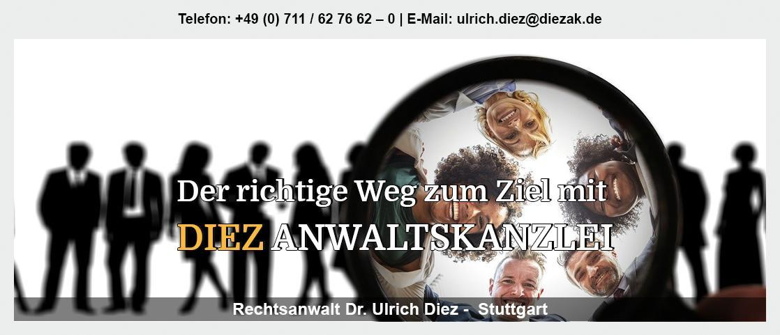 Erbrecht Schorndorf - Rechtsanwalt - Dr. Ulrich Diez: Gesellschaftsrecht, Handelsrecht, Vertragsrecht,