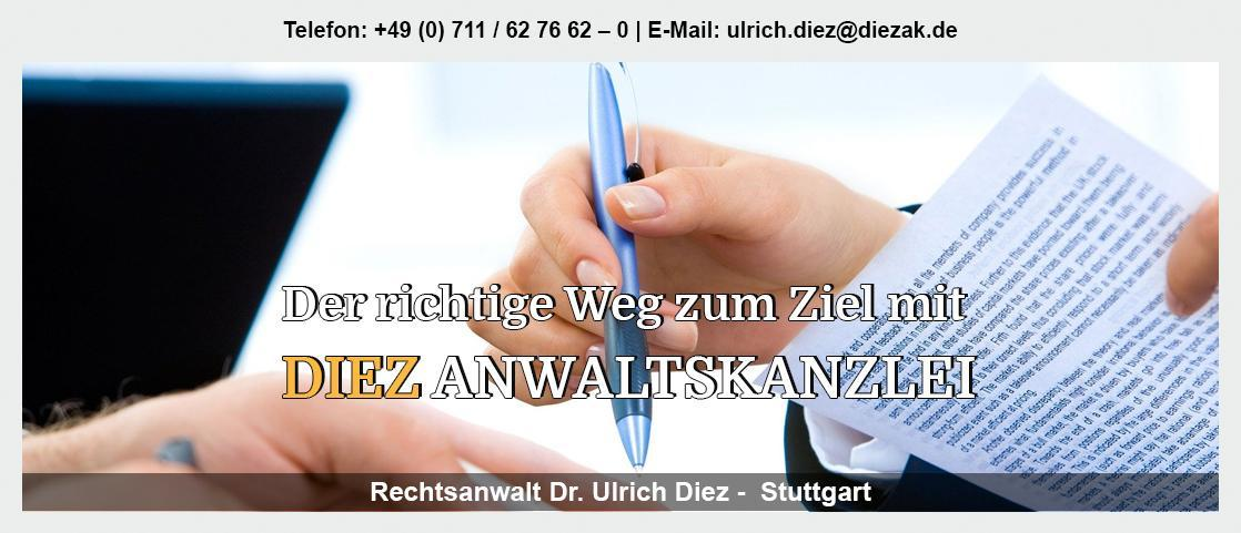 Testament Deckenpfronn - Rechtsanwalt - Dr. Ulrich Diez: Erbfolge, Zivilrecht, Gesellschaftsrecht,